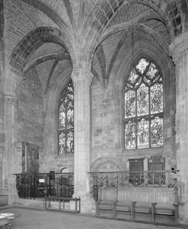 Interior, Albany Aisle, view from South East