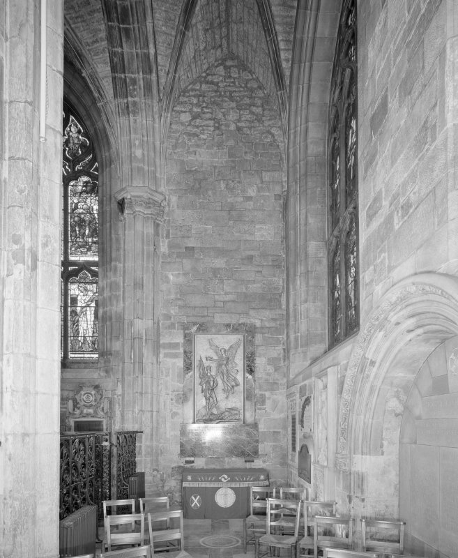 Interior, Albany Aisle, view of East wall