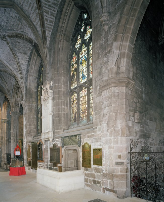 Interior, Nave North Aisle, view of North wall