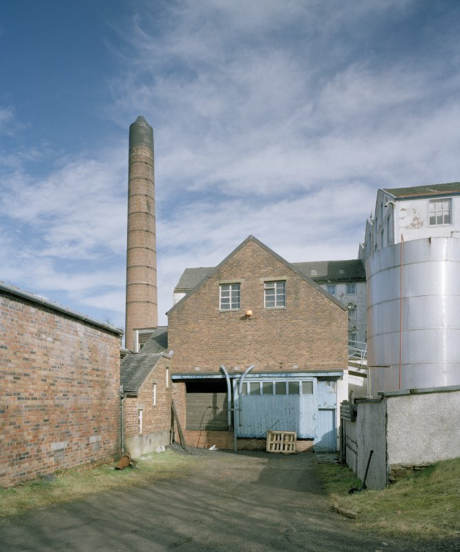 View of boiler house from SW.