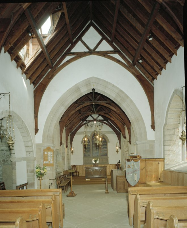 Interior. View of nave towards Chancel