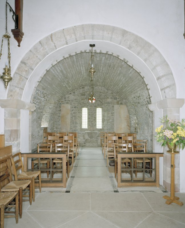 Interior. View of N side chapel