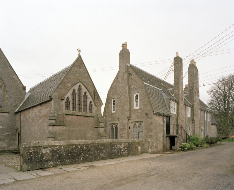 View from SE showing college and chapter house