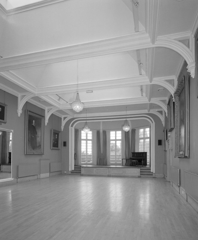 Interior. 1st floor Main Hall from NNW