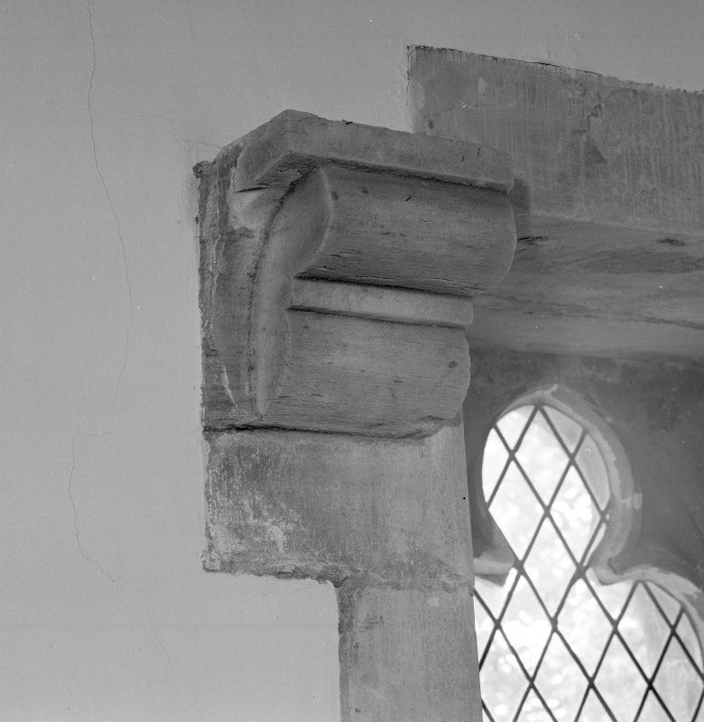 Interior. Detail of corbel.