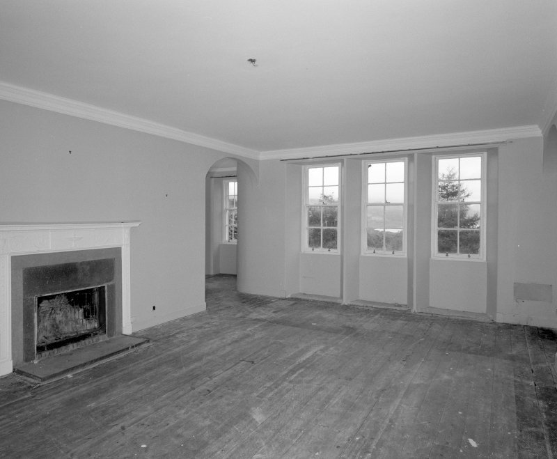 Interior. View of ground floor drawing room