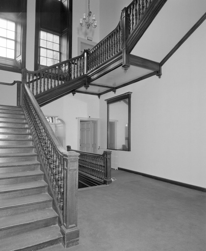 Interior, view of main staircase