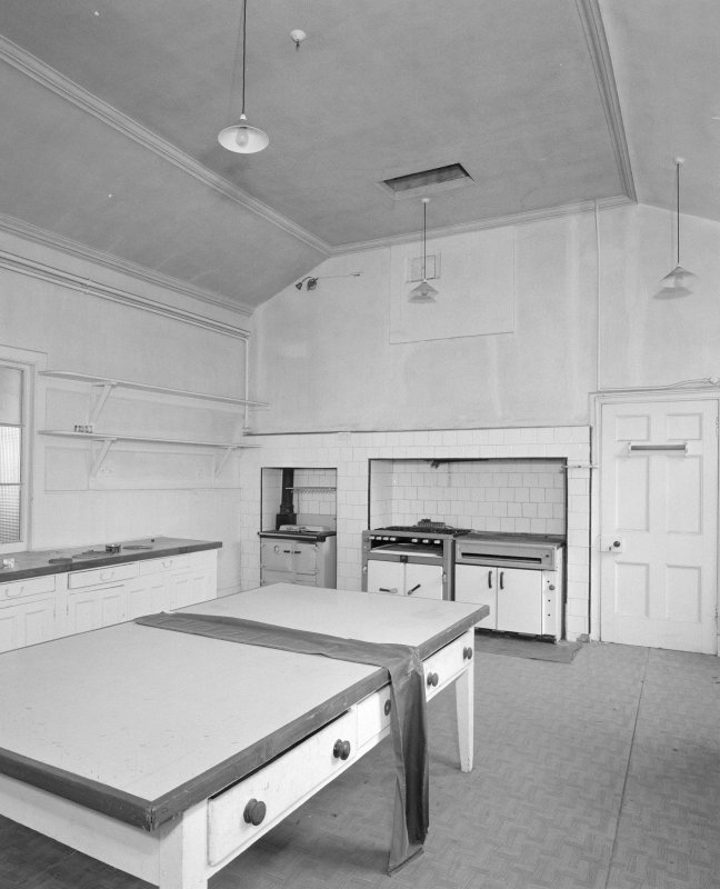 Interior, view of main 19th century kitchen