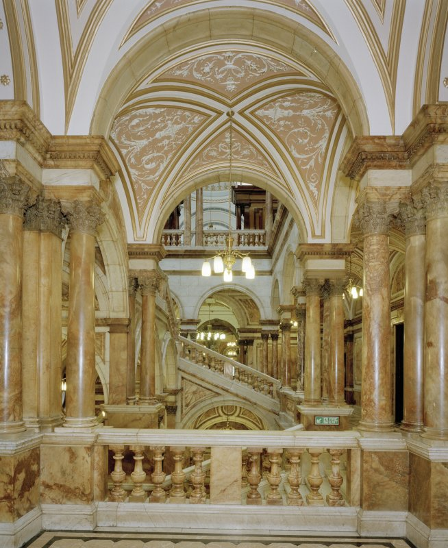 Interior. Marble Staircase