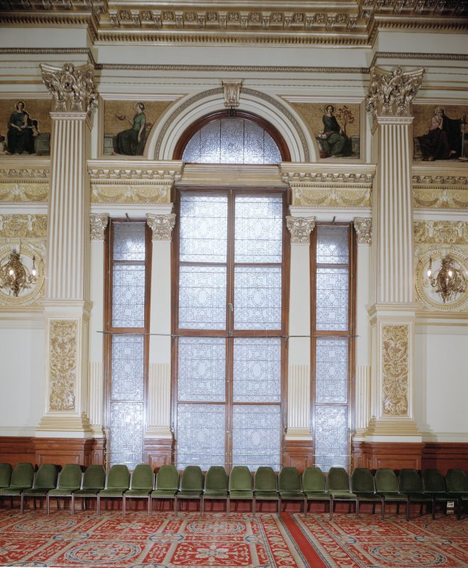 Interior. Second Floor Banqueting Hall, a Venetian window