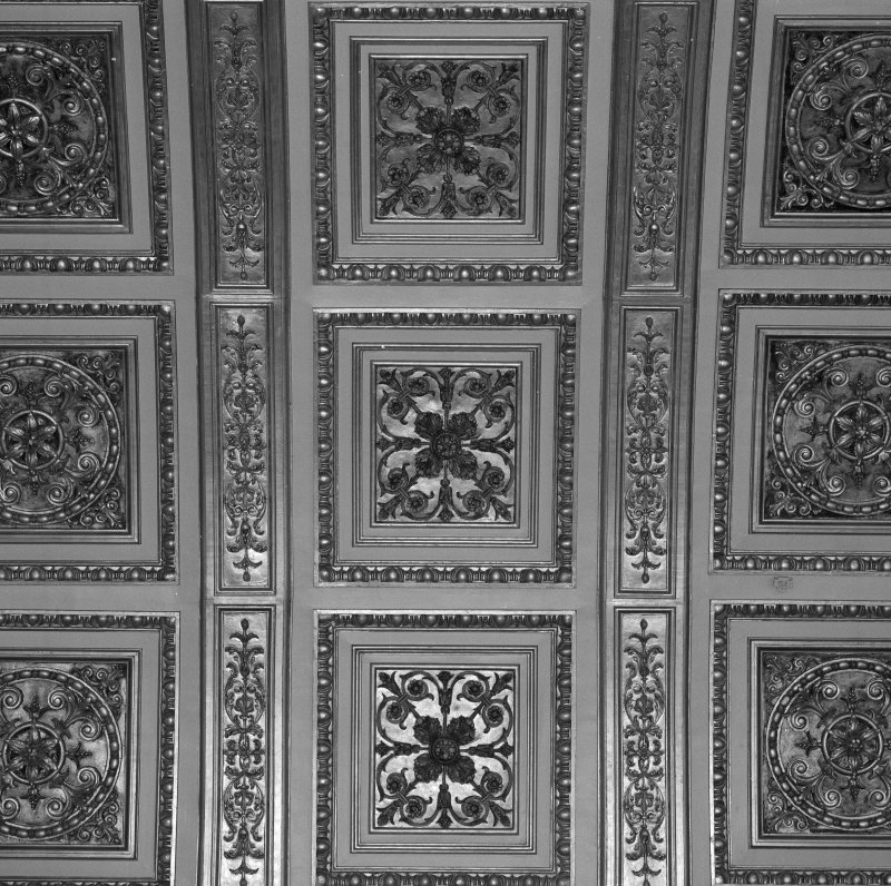 Interior. Second Floor Banqueting Hall, ceiling