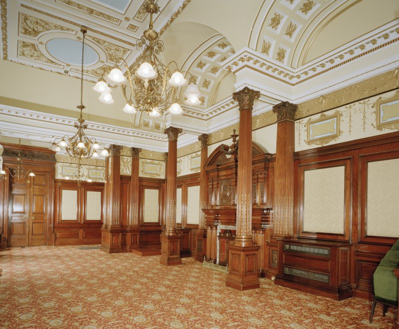 Interior. Second Floor Mahogany Reception Room