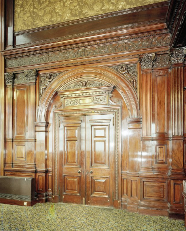 Interior. Second Floor Council Chamber, doorway