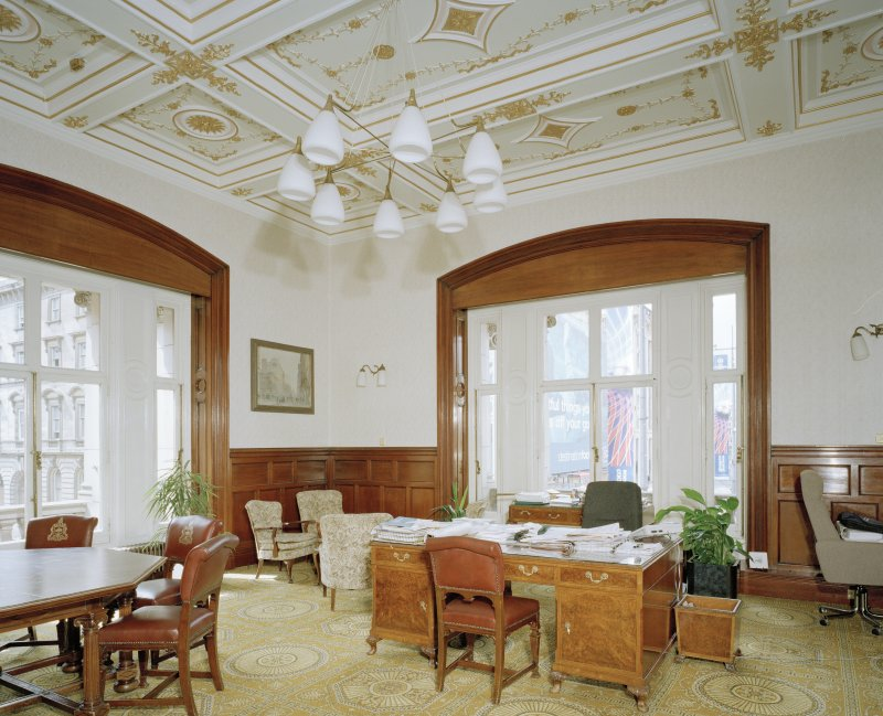 Interior. Second Floor Lord Provost's office