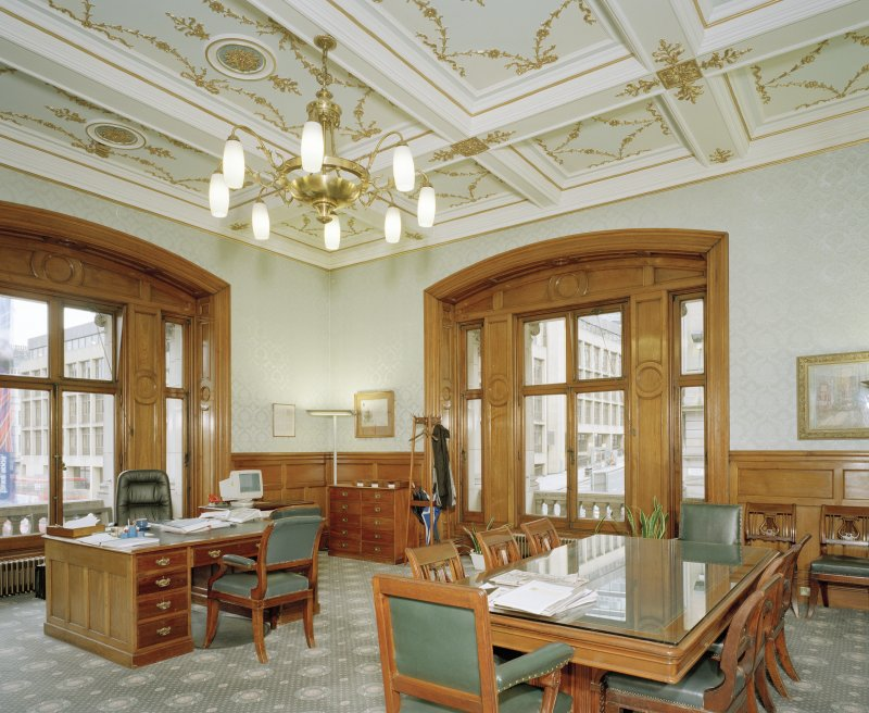 Interior. Second Floor Finance Director`s office