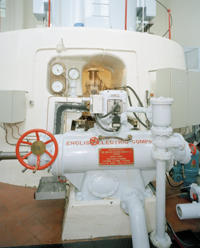 Interior. Detail of SW turbine