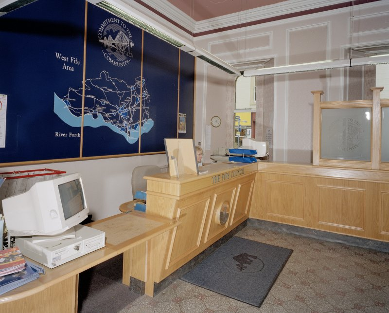 Interior. View of reception area