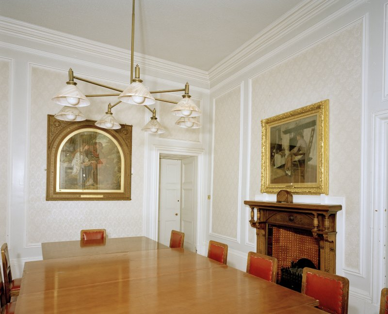 Interior. View of first floor committee room