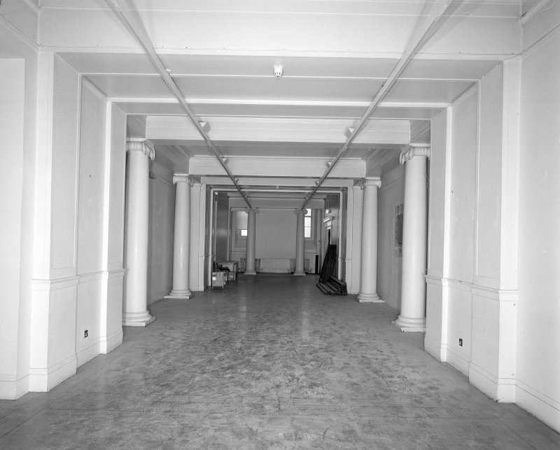 Interior. View of RSA Members Lobby looking South
