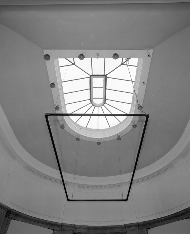 Interior. View of sculpture court cupola