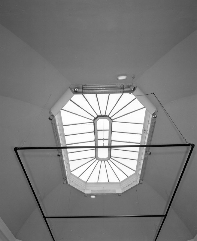 Interior. View of gallery cupola