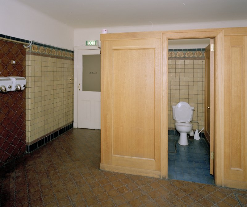 Interior. View of Ladies Cloakroom and WC