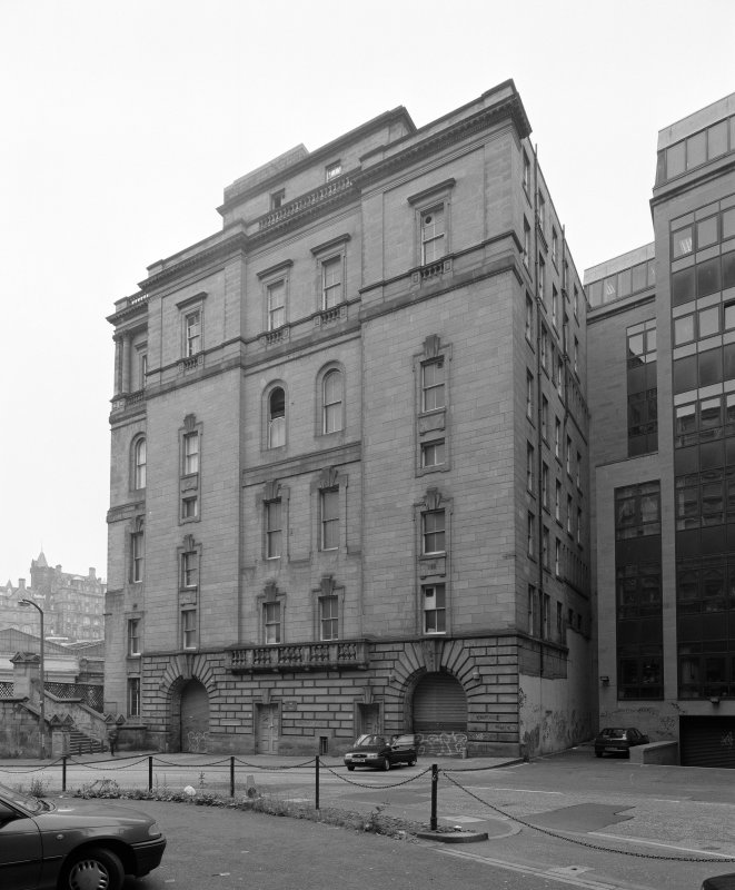 View from East Northeast from Calton Road showing East facade
