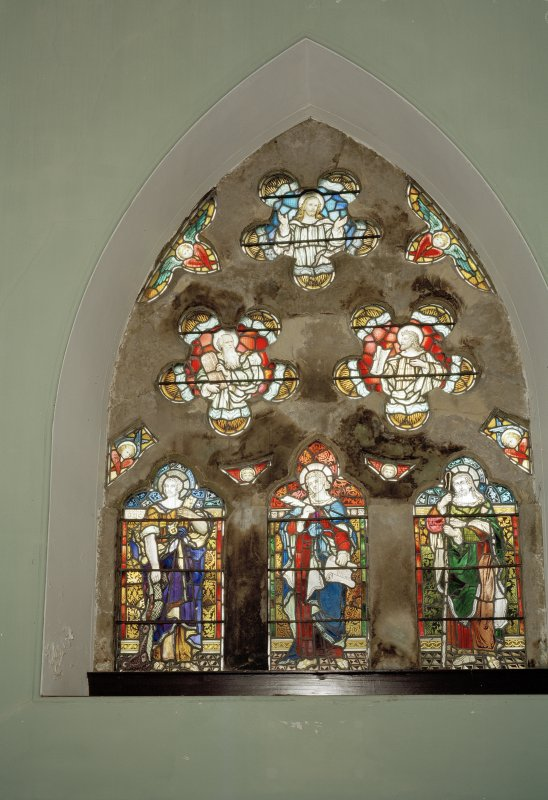 View of stained glass window by Ballantine & Gardiner of Edinburgh (1905)