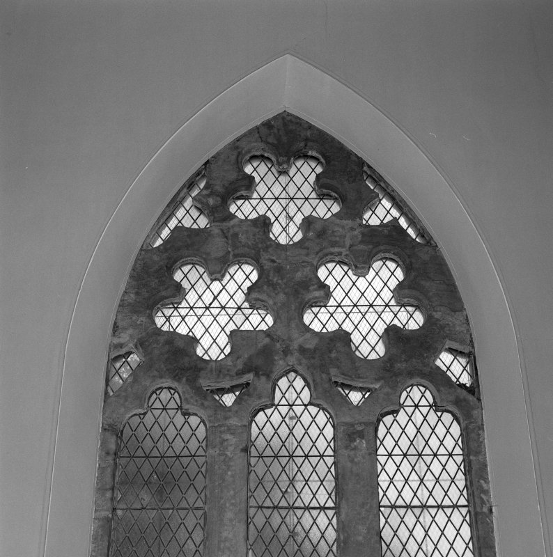 Detail of window tracery
