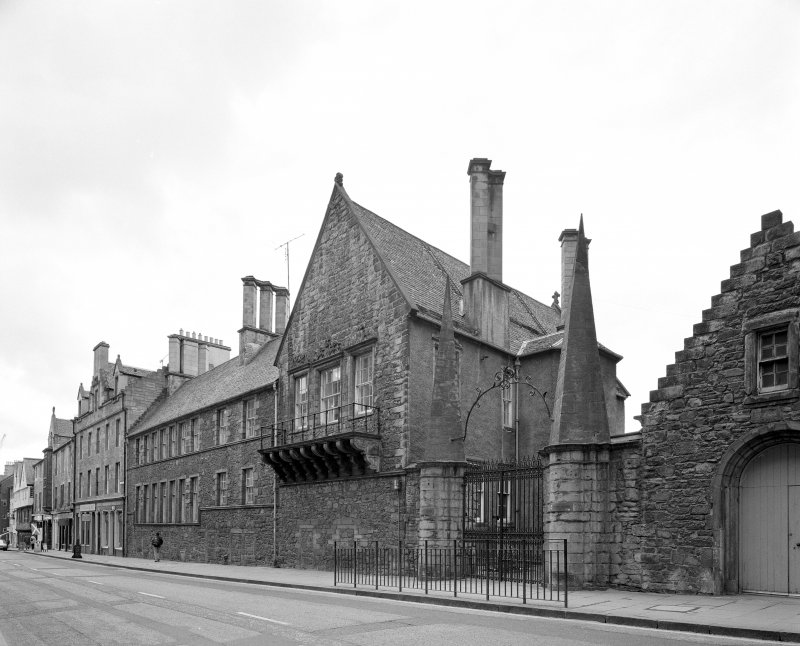 View of Moray House from North West