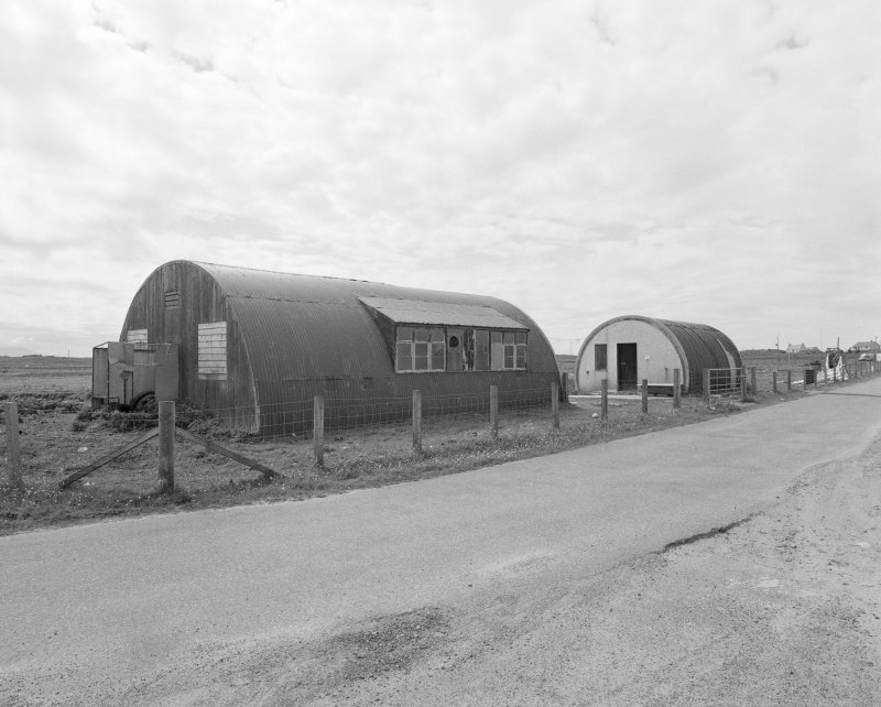 Detail of nissen huts on SE perimeter.