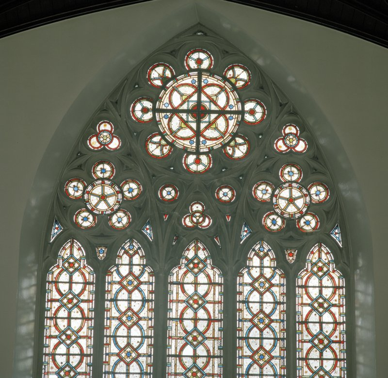 Detail of N window