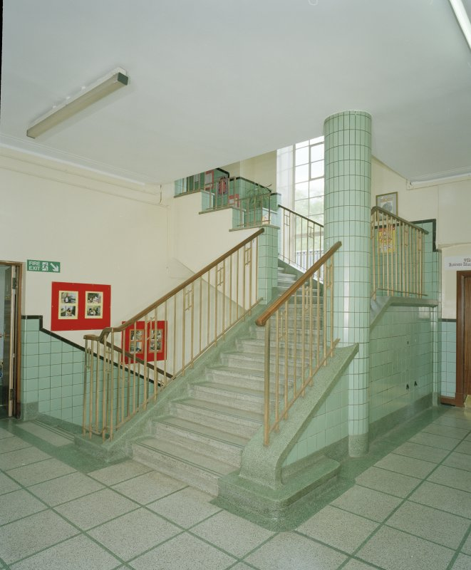 Detail of first floor staircase