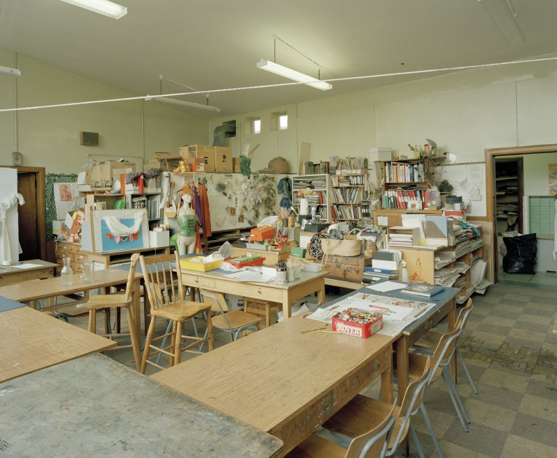 View of art class from South