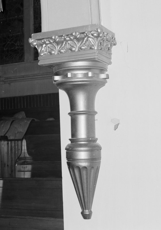 Detail of pilaster/ consol bracket