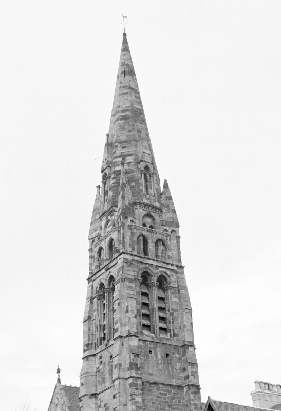 Detail of exterior of spire