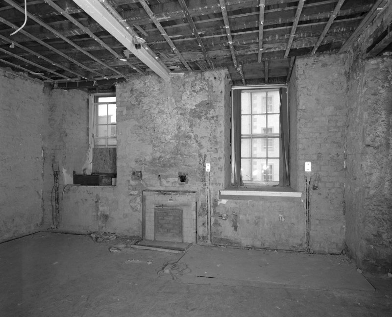 Interior. Room FF-21 View of North wall