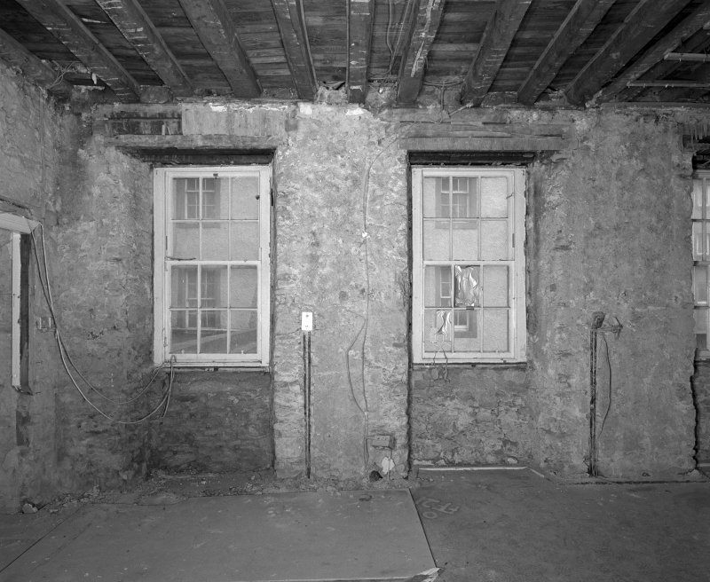 Interior. Room FF-21 View of West wall