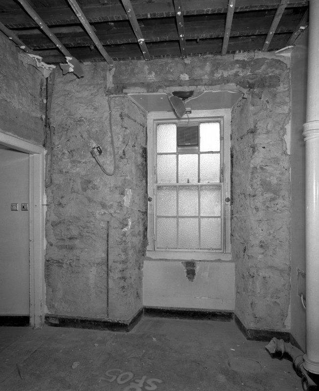 Interior. Room SF-05 View of North wall