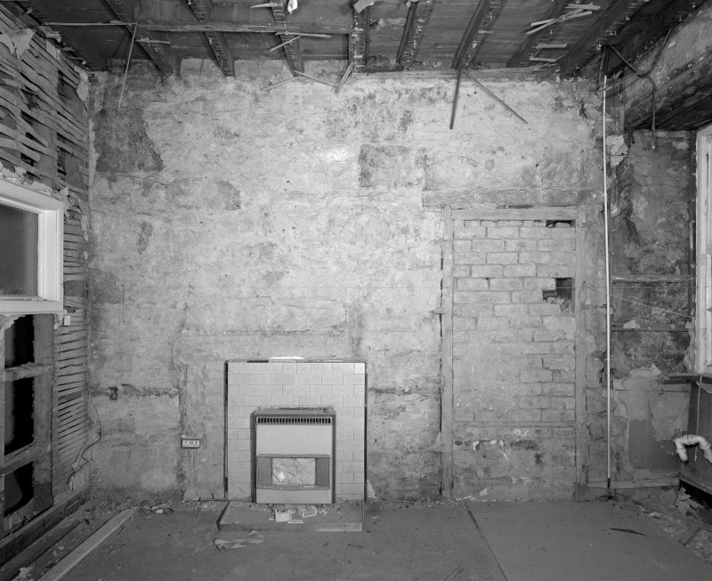 Interior. Room SF-10 View of East wall