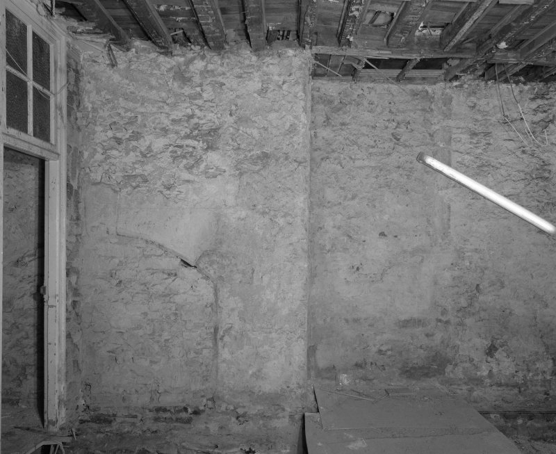 Interior. Room LG-18 View of East wall