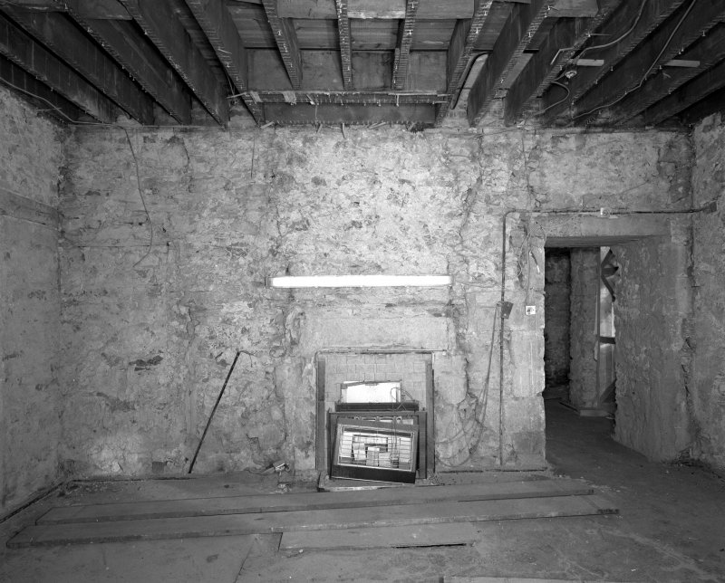 Interior. Room FF-15 View of East wall