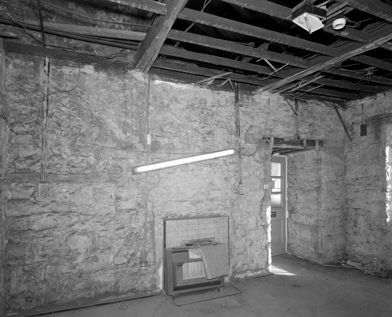 Interior. Room TF-11 View of East wall