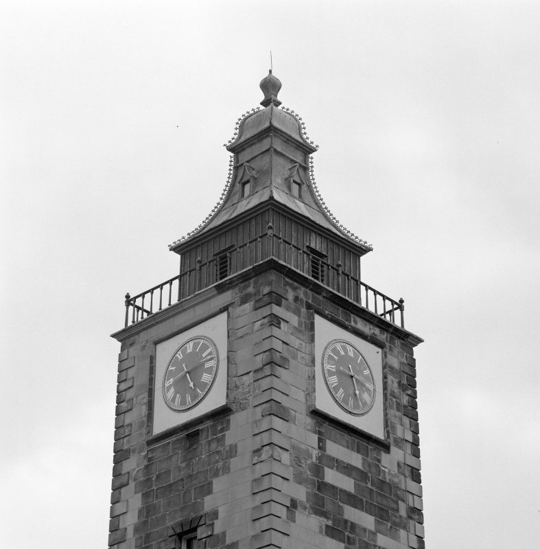 Detail of clock tower