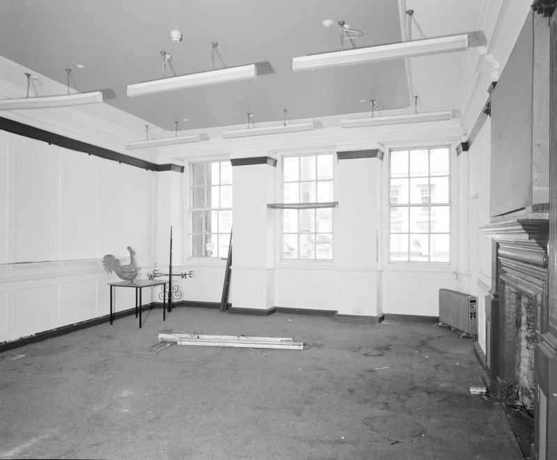 Interior. Tolbooth View of first floor North room from West South West