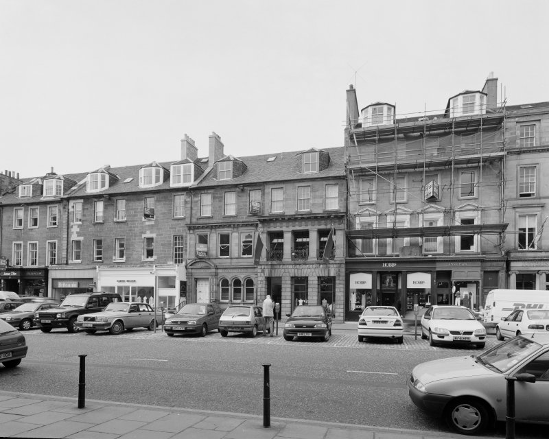 View of George Street front from SE