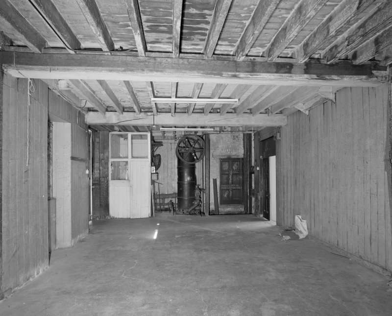 Lane buildings View of ground floor former stables from E