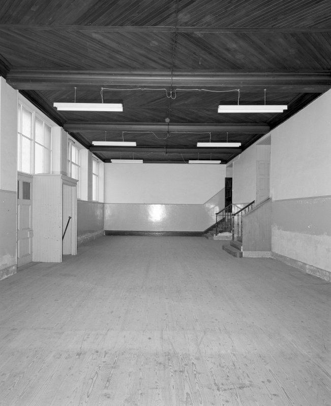 Lane buildings View of ground floor former mission hall furniture store from W