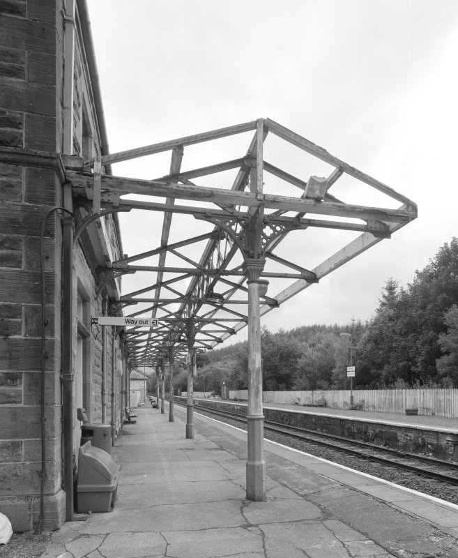 Dalmally Railway Station Detail of canopy