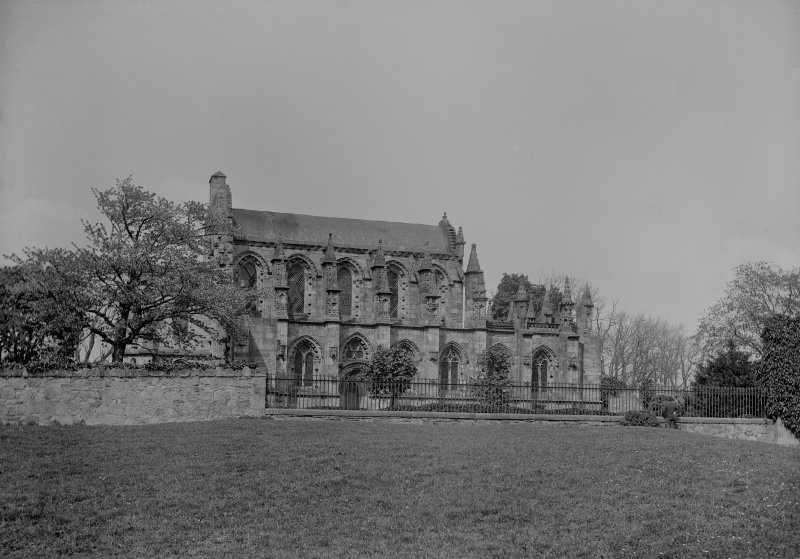 Roslin Chapel, view from South.